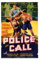 "Police Call - 11"" x 17"""