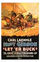 """Let 'Er Buck - 11"""" x 17"""""""
