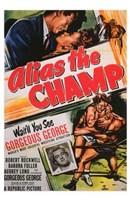 "Alias the Champ - 11"" x 17"" - $15.49"