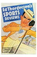 "Ed Thorgersen's Sports Reviews - 11"" x 17"""