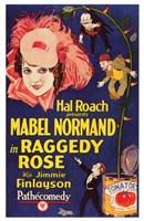 "Raggedy Rose - 11"" x 17"""