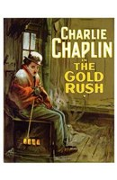 """The Gold Rush Cold Charlie Chaplin - 11"""" x 17"""""""