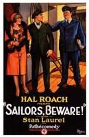 "Sailors  Beware! - 11"" x 17"""