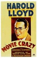 """Movie Crazy - 11"""" x 17"""", FulcrumGallery.com brand"""