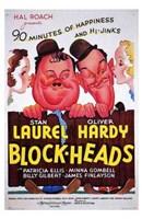 "Block-Heads - 11"" x 17"""