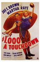"$1 000 a Touchdown - 11"" x 17"", FulcrumGallery.com brand"
