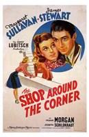 """The Shop Around the Corner James Stewart - 11"""" x 17"""""""