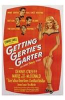 """Getting Gertie's Garter - 11"""" x 17"""", FulcrumGallery.com brand"""