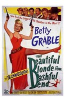 """The Beautiful Blonde from Bashful Bend - 11"""" x 17"""" - $15.49"""
