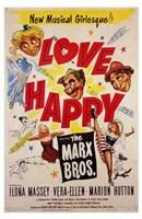 "Love Happy - 11"" x 17"""