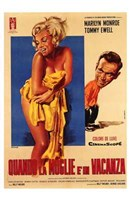 """The Seven Year Itch Yellow Towel - 11"""" x 17"""" - $15.49"""