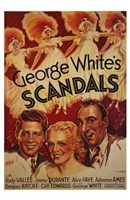 """George White's Scandals - 11"""" x 17"""" - $15.49"""