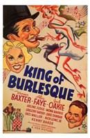 "King of Burlesque - 11"" x 17"" - $15.49"