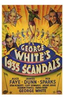 """George White's 1935 Scandals - 11"""" x 17"""" - $15.49"""