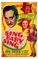 """Sing Baby Sing - 11"""" x 17"""""""