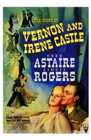 """The Story of Vernon and Irene Castle - 11"""" x 17"""""""