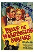 "Rose of Washington Square - 11"" x 17"""