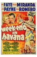 """Week-End in Havana - 11"""" x 17"""""""
