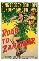 Road to Zanzibar Wall Poster