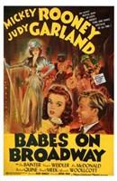 "Babes on Broadway - 11"" x 17"" - $15.49"