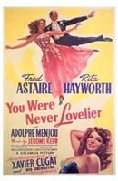 "You Were Never Lovelier - 11"" x 17"" - $15.49"