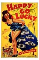 "Happy Go Lucky - 11"" x 17"", FulcrumGallery.com brand"