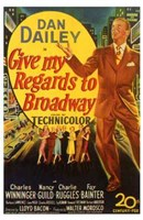 """Give My Regards to Broadway - 11"""" x 17"""""""