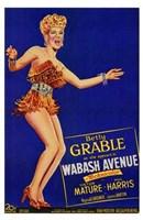 """Wabash Avenue - 11"""" x 17"""""""