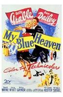 "My Blue Heaven - 11"" x 17"""