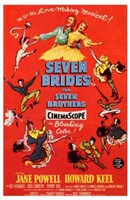 Seven Brides for Seven Brothers Wall Poster
