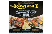 """The King and I - square - 17"""" x 11"""""""