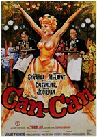Can Can Starring Shirley MacLaine Wall Poster