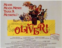 """Oliver More than a Musical! - 17"""" x 11"""""""
