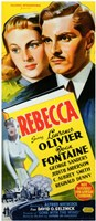 Rebecca Novel Wall Poster