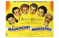 """The Magnificent Ambersons - 17"""" x 11"""" - $15.49"""