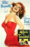Affair in Trinidad Wall Poster