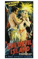 "She-Devil Island - 11"" x 17"""