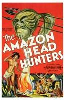 """The Amazon Head Hunters - 11"""" x 17"""""""