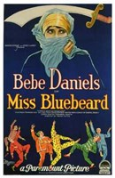 "Miss Bluebeard - 11"" x 17"""