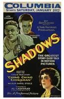 "Shadows Harrison Ford - 11"" x 17"""