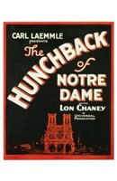 """The Hunchback of Notre Dame With Lon Chaney - 11"""" x 17"""""""