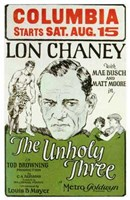 """The Unholy 3 (movie poster) - 11"""" x 17"""""""
