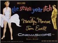 The Seven Year Itch - style D, c.1955 Fine Art Print