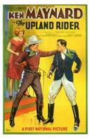 "The Upland Rider - 11"" x 17"""