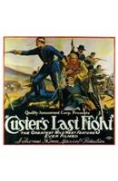 "Custer's Last Fight - 11"" x 17"""
