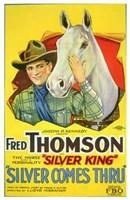 "Silver Comes Thru - 11"" x 17"""