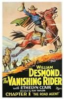"The Vanishing Rider - 11"" x 17"""