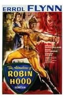"The Adventures of Robin Hood Errol Flynn - 11"" x 17"""