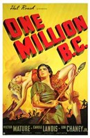 "One Million Bc - 11"" x 17"""