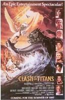 "Clash of the Titans - style C, 1981, 1981 - 11"" x 17"""